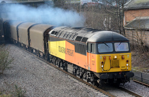 56087 Colas Rail Freight at Water Orton