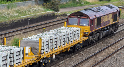66125 Concrete Sleeepers