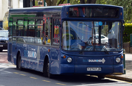 Blue Diamond Y274FJN
