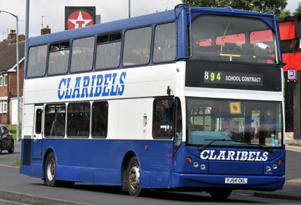 Claribels Bus YL54CKL