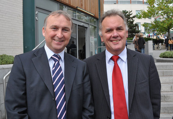 Councillor Ian Ward & Councillor Sir Albert