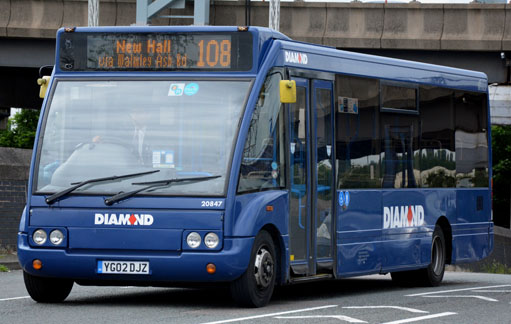 Diamond Bus 20847