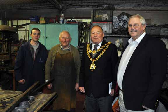 Lord Mayor Visits the Blacksmiths