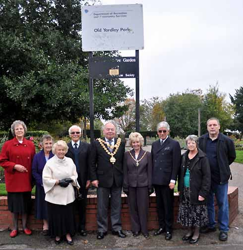 Lord Mayor, Lady Mayoress and Yardley