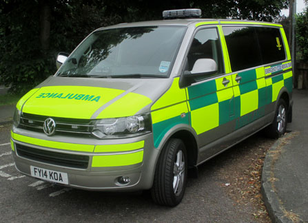 Emergency Medical Team Ambulance