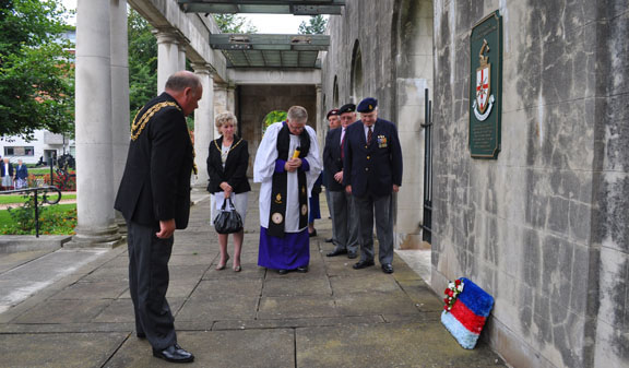 Laying of Wreath