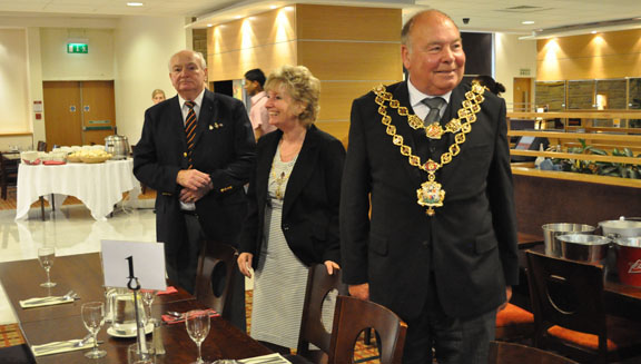 Lord Mayor & Lady Mayoress