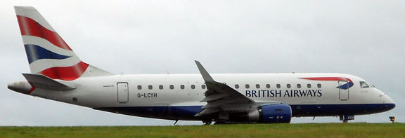 G-LCYH British Airways