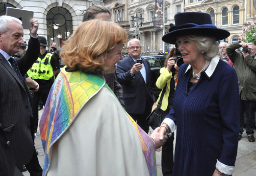 HRH Duchess of Cornwall and The Very Revd Catherine