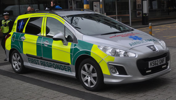 Midlands Emergency Reponse Ambulance