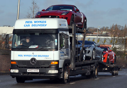 Neil Wykes Car Delivery