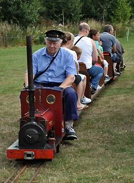 Orchard Steam railway