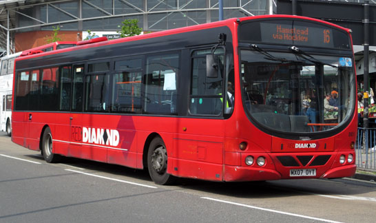 Red Diamond Bus MX077 OYT