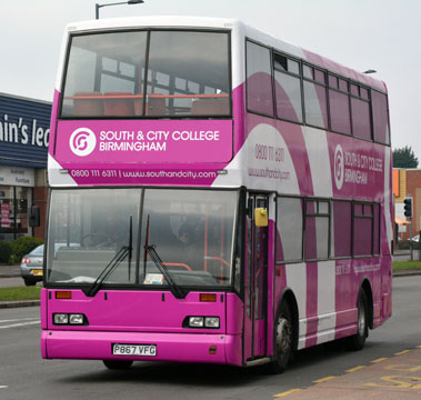 South & City College BIrmingham bus