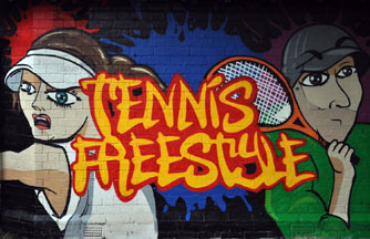 tennis freestyle