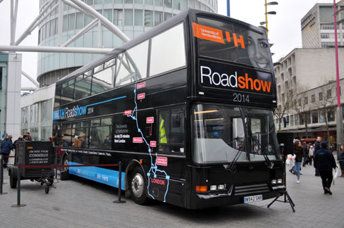 Roadshow 2014 Bus