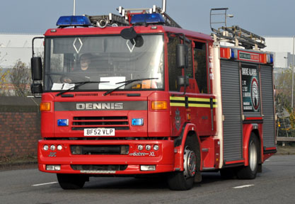 Ward End Fire Engine