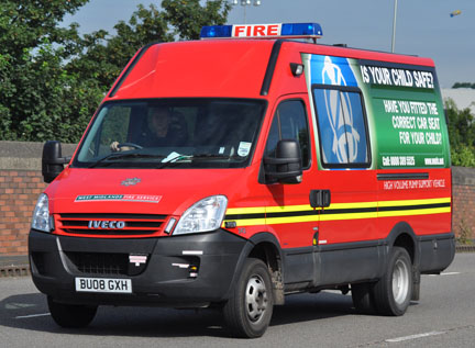 West Midlands Fire Service Support Vehicle